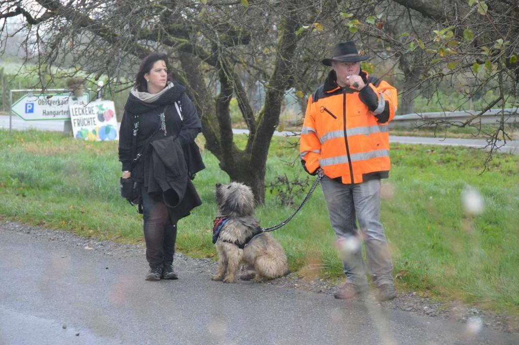 Murphy mit Lilian & Reto